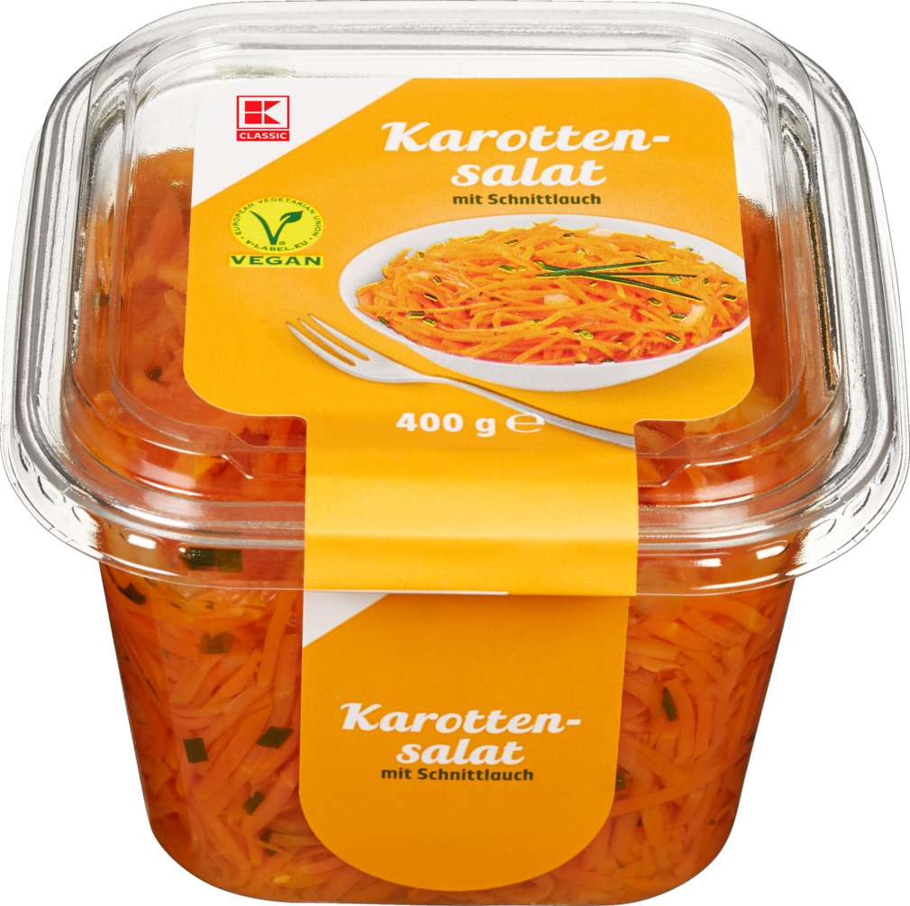 Abbildung des Sortimentsartikels K-Classic Karottensalat 400g