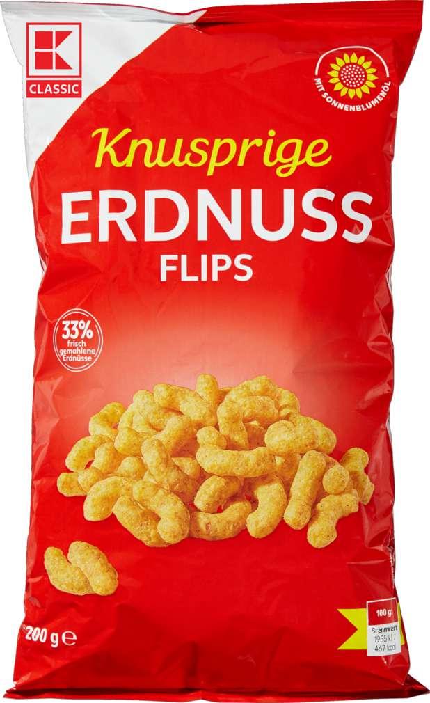 Abbildung des Sortimentsartikels K-Classic Erdnussflips 200g