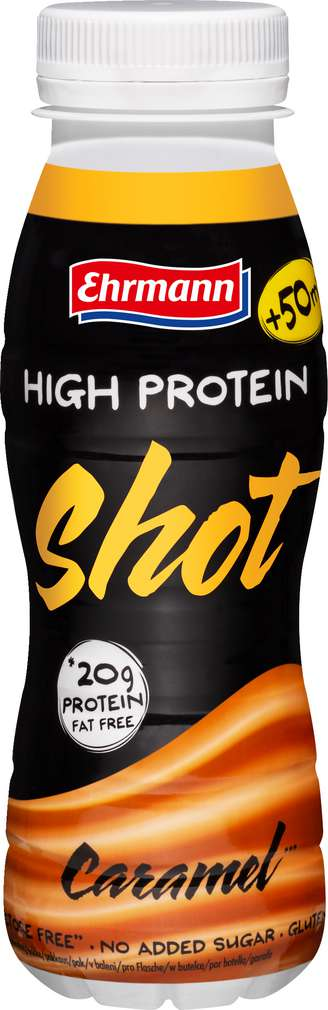 Abbildung des Sortimentsartikels Ehrmann High Protein Shot Karamell 250ml