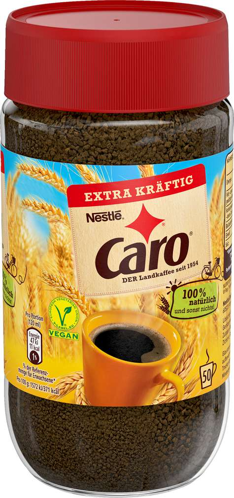 Abbildung des Sortimentsartikels Caro Landkaffee extra kräftig 150g