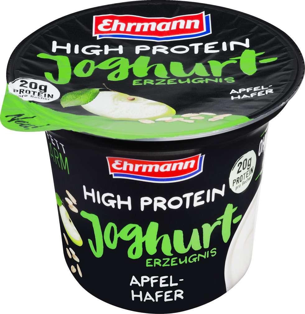 Abbildung des Sortimentsartikels Ehrmann Protein Joghurt Apfel Hafer 200g