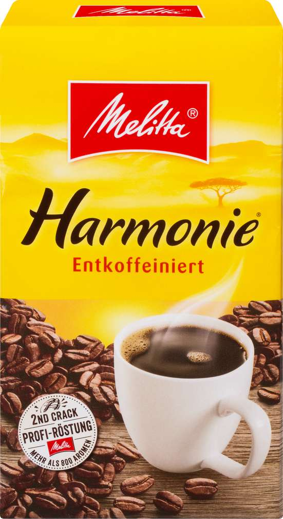 Abbildung des Sortimentsartikels Melitta Entkoffeiniert 500g