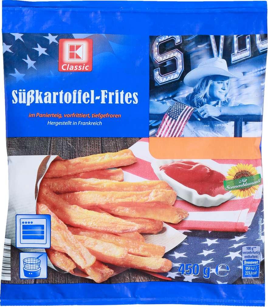 Abbildung des Sortimentsartikels K-Classic Süßkartoffel-Frites 450g