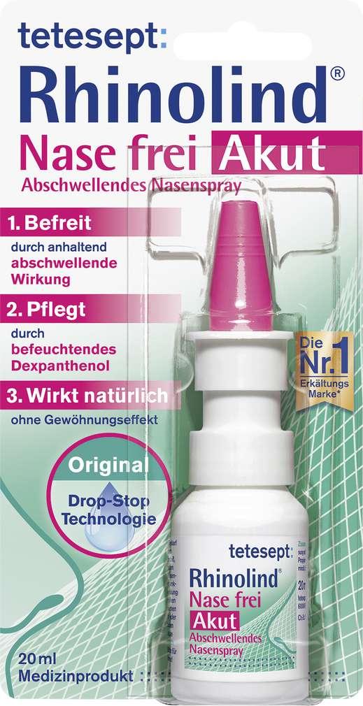 Abbildung des Sortimentsartikels Tetesept Nasenspray Rhinolid 20ml