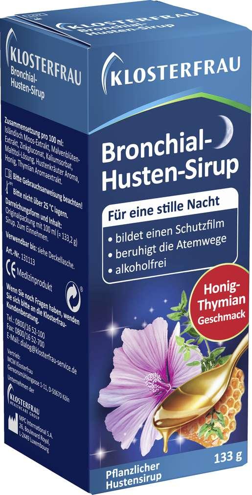 Abbildung des Sortimentsartikels Klosterfrau Bronchial-Hustensirup 100ml