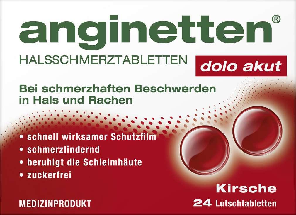 Abbildung des Sortimentsartikels Anginetten Halstablette akut 24 Stück