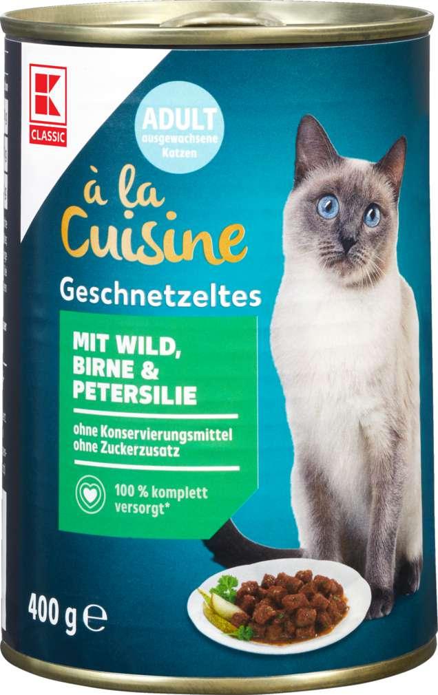 Abbildung des Sortimentsartikels K-Classic Katzennahrung Wild+Birne+Petersilie 400g