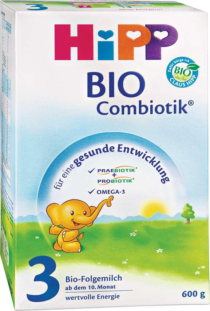 Abbildung des Sortimentsartikels Hipp Bio-Combiotik 3 ab dem 10. Monat 600g
