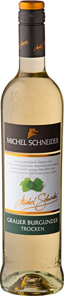 Abbildung des Sortimentsartikels Michel Schneider Grauer Burgunder trocken 0,75l