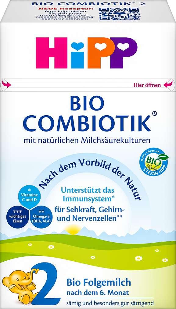 Abbildung des Sortimentsartikels Hipp Bio-Combiotik 2 nach dem 6. Monat 600g