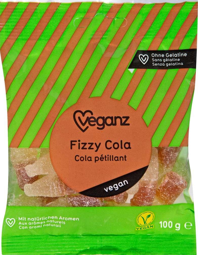 Abbildung des Sortimentsartikels Veganz Fizzy Cola 100g