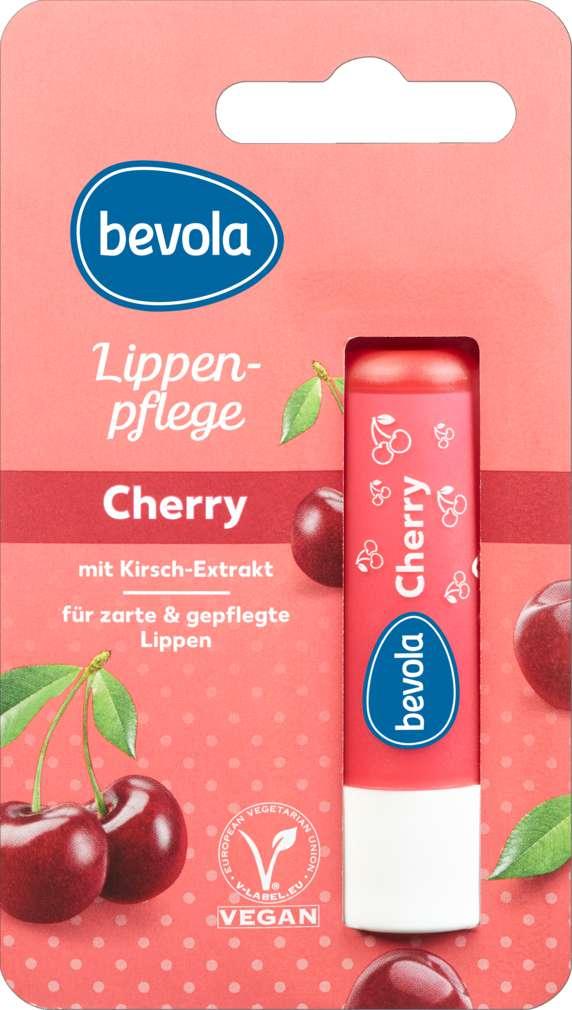 Abbildung des Sortimentsartikels Bevola Lippenpflegestift Cherry 4,8g