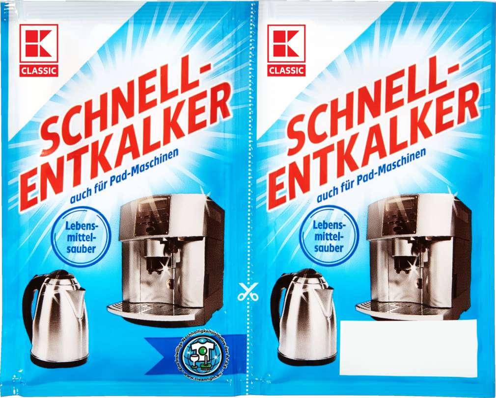 Abbildung des Sortimentsartikels K-Classic Schnellentkalker 2x25g