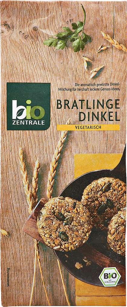Abbildung des Sortimentsartikels Bio-Zentrale Bratlinge Dinkel 300g