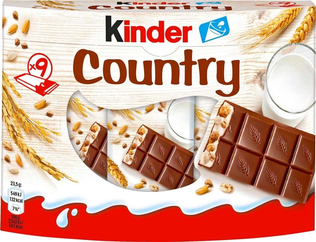 Abbildung des Sortimentsartikels Kinder Country 9 Riegel