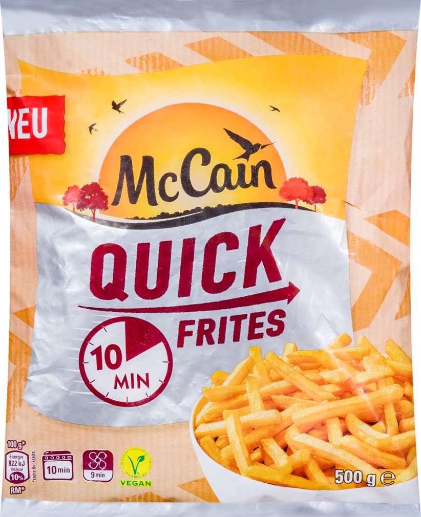Abbildung des Sortimentsartikels Mc Cain Quick Frites 500g