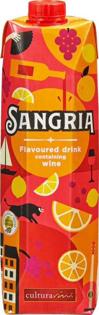 Abbildung des Sortimentsartikels Cultura Vini Sangria 1,0l