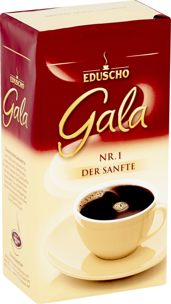 Abbildung des Sortimentsartikels Eduscho Gala Nr.1 Der Sanfte 500g