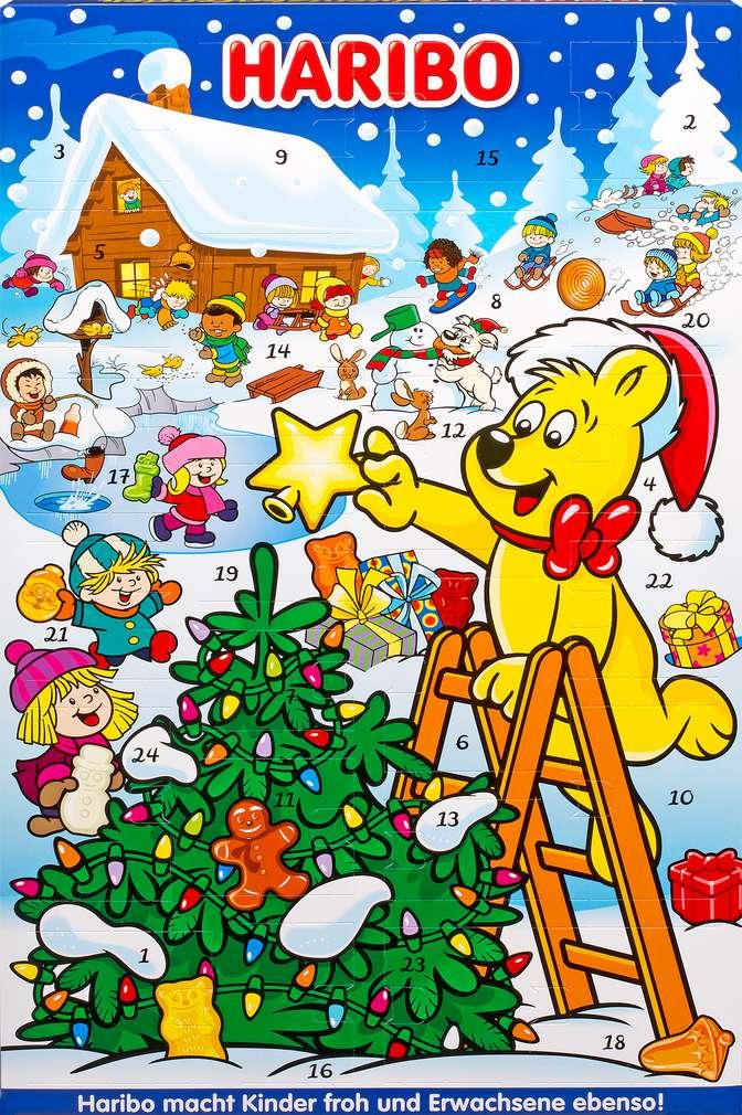 Abbildung des Sortimentsartikels Haribo Adventskalender 300g