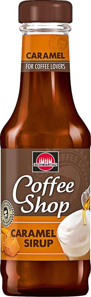 Abbildung des Sortimentsartikels Schwartau Coffee Shop Caramel Sirup 200ml