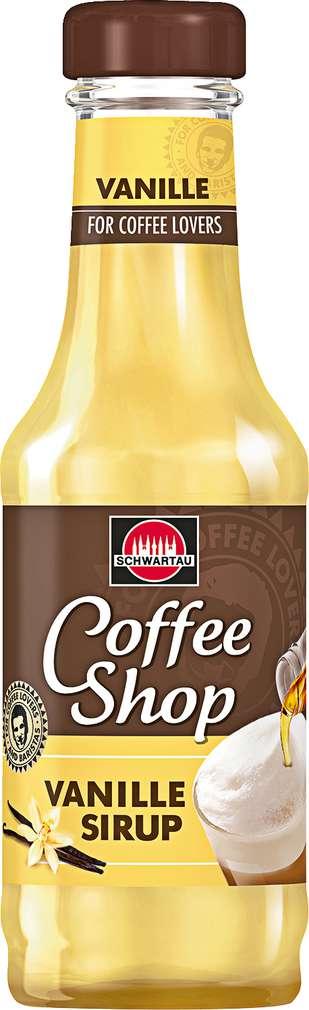 Abbildung des Sortimentsartikels Schwartau Coffee Shop Vanille Sirup 200ml