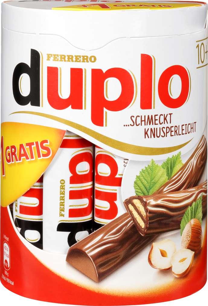 Abbildung des Sortimentsartikels Duplo Ferrero 10+1 gratis 198g