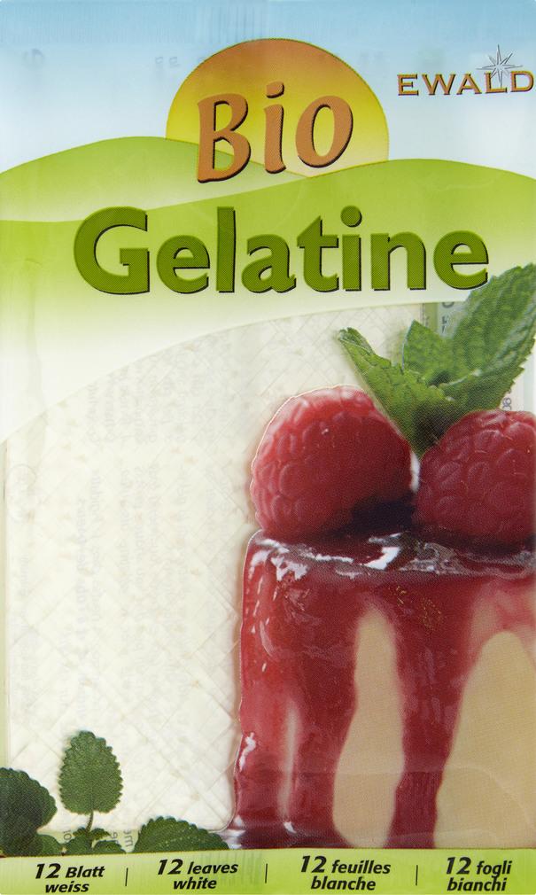 Abbildung des Sortimentsartikels Ewald Bio Gelatine 20g