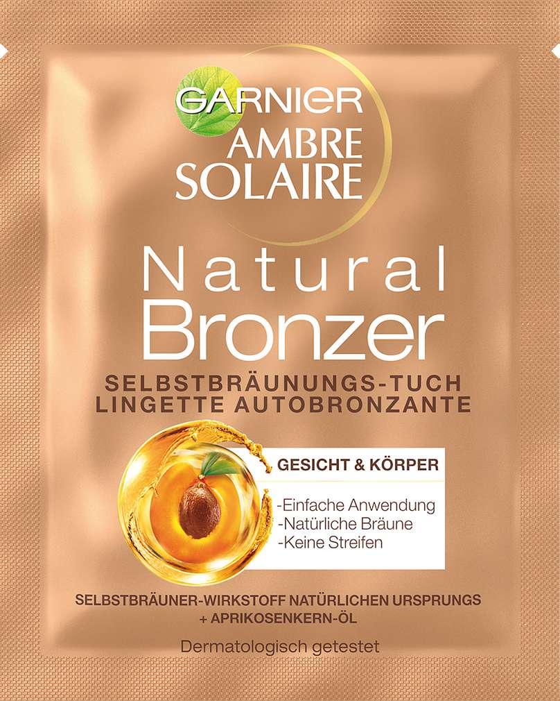 Abbildung des Sortimentsartikels Garnier Ambre Solaire Selbstbräunungstuch Gesicht