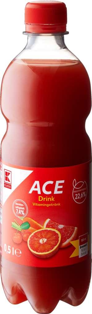 Abbildung des Sortimentsartikels K-Classic A.C.E - Drink rot 0,5l
