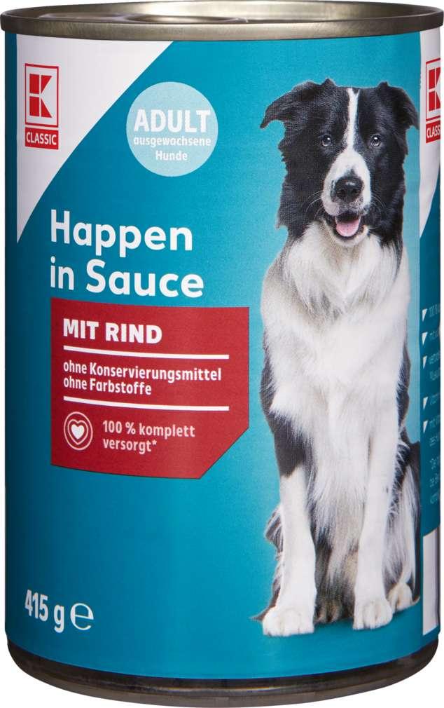 Abbildung des Sortimentsartikels K-Classic Hundenahrung Rind 415g