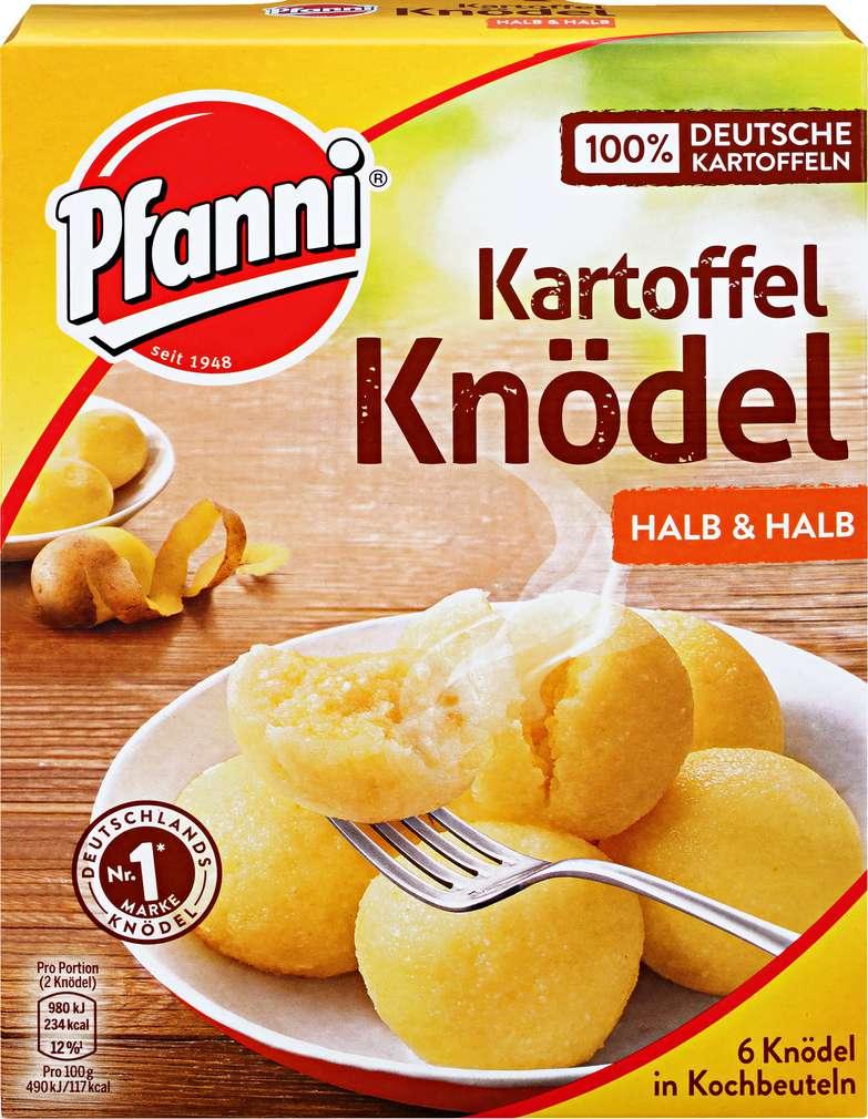 Abbildung des Sortimentsartikels Pfanni Kartoffelknödel Halb & Halb 200g