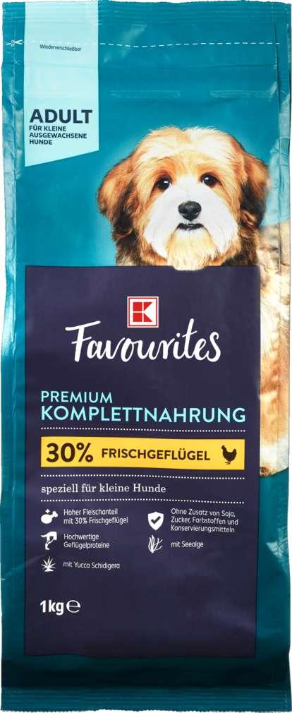 Abbildung des Sortimentsartikels K-Favourites Hundenahrung für kleine Hunde 1kg
