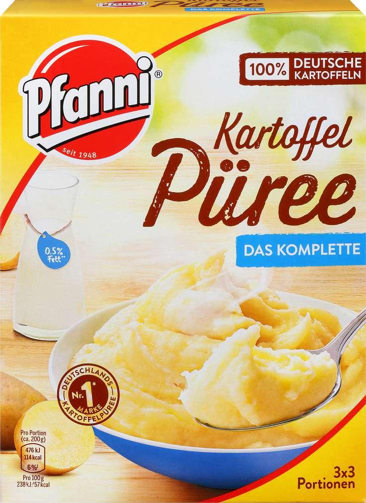 Abbildung des Sortimentsartikels Pfanni Kartoffelpüree mit entrahmter Milch 283,5g