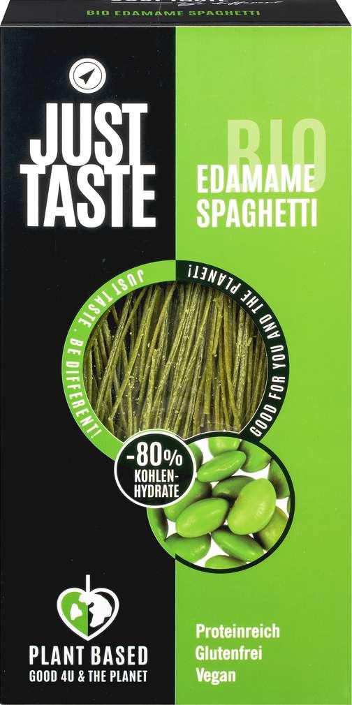 Abbildung des Sortimentsartikels Just Taste Bio Edamame Spaghetti glutenfrei vegan 250g