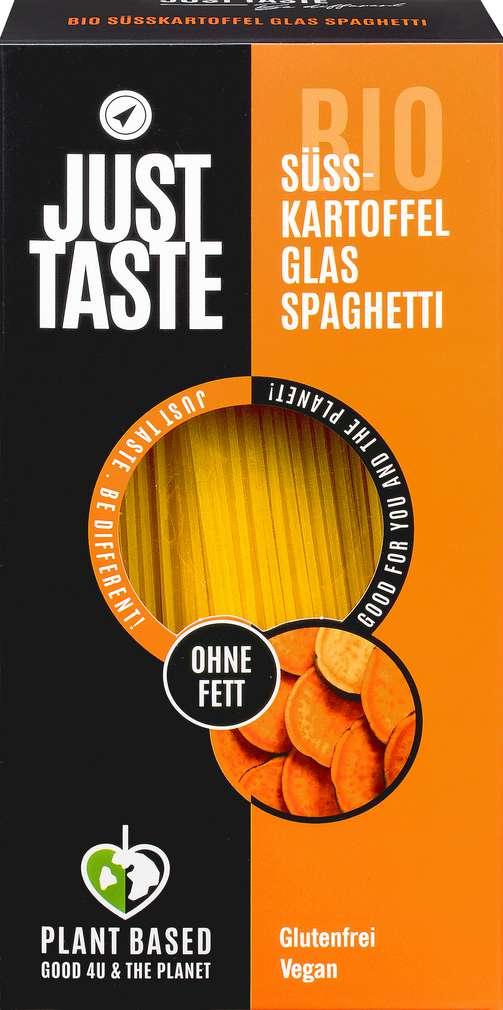 Abbildung des Sortimentsartikels Just Taste Bio glutenfrei vegan Süsskartoffel Spaghetti 250g