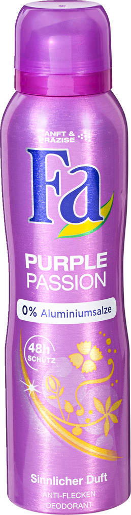 Abbildung des Sortimentsartikels Fa Deo-Spray Purple Passion 150ml