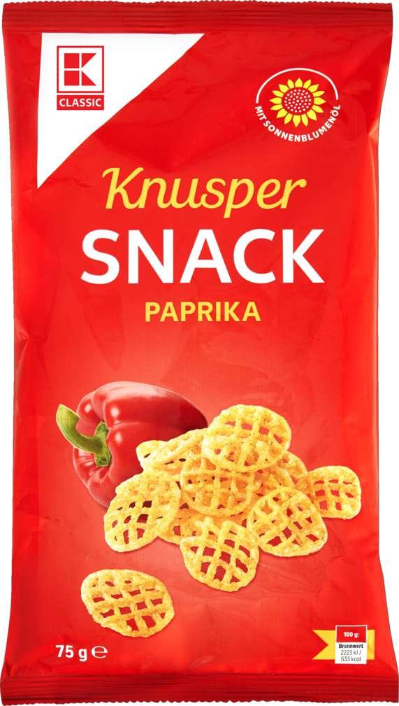 Abbildung des Sortimentsartikels K-Classic Knuspersnack Paprika 75g