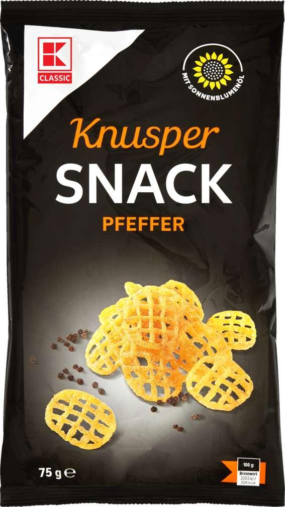 Abbildung des Sortimentsartikels K-Classic Knuspersnack Pfeffer 75g
