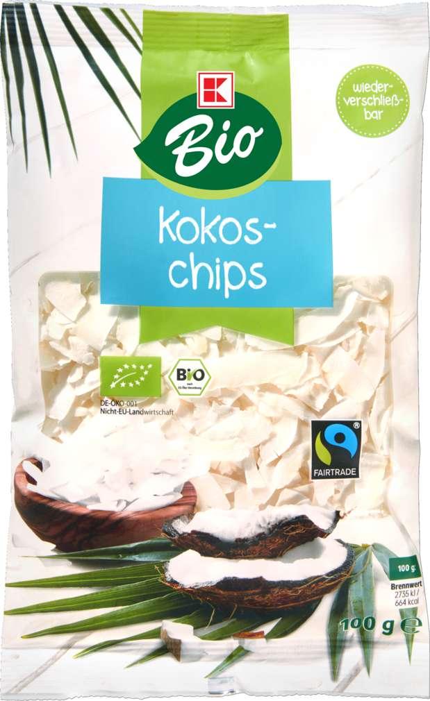 Abbildung des Sortimentsartikels K-Bio Kokoschips 100g
