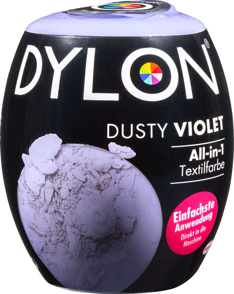 Abbildung des Sortimentsartikels Dylon Dusty Violet 350g