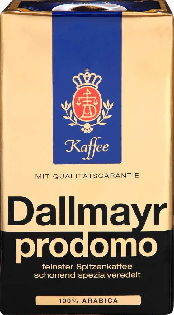 Abbildung des Sortimentsartikels Dallmayr Prodomo 500g