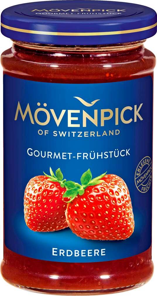 Abbildung des Sortimentsartikels Mövenpick Gourmet-Frühstück Erdbeere 250g
