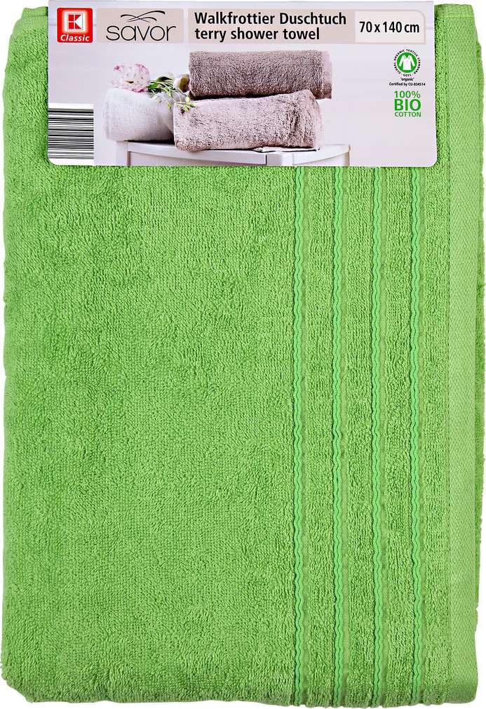 Abbildung des Sortimentsartikels Liv & Bo Duschtuch grün 70 x 140 cm