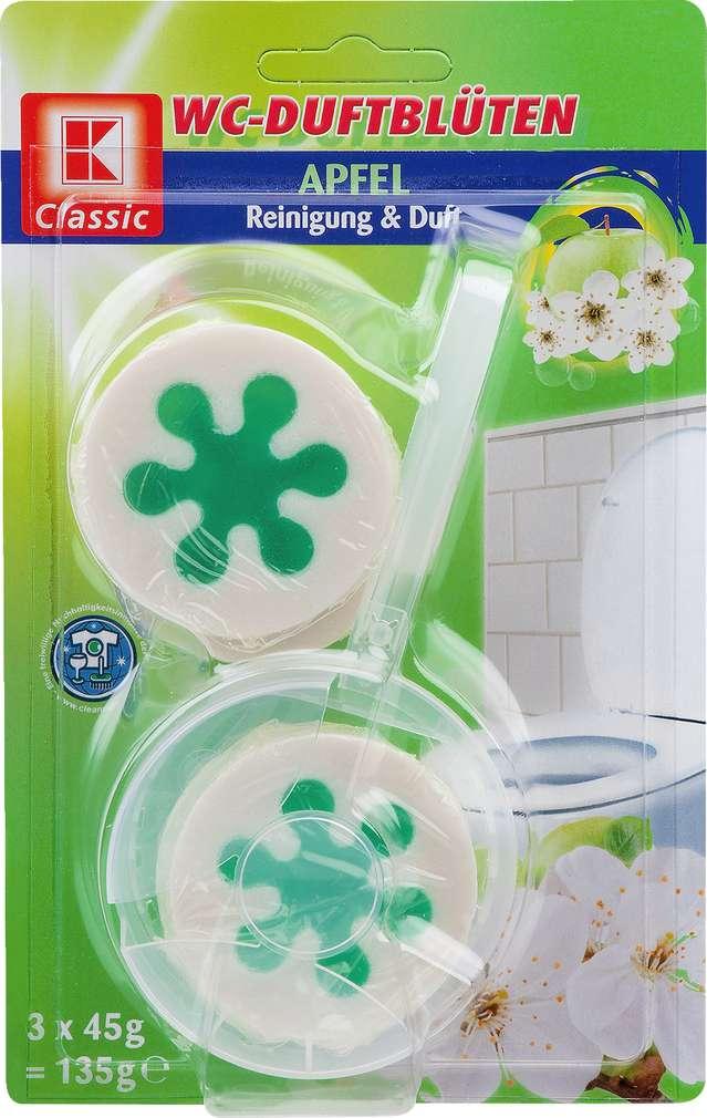 Abbildung des Sortimentsartikels K-Classic WC-Duftblüten Apfel 3x45g