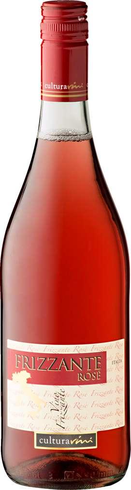 Abbildung des Sortimentsartikels Cultura Vini Vino Frizzante Rose 0,75l