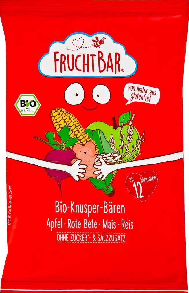 Abbildung des Sortimentsartikels FruchtBar Snack Knabber-Bären ab 12 Monate 30g