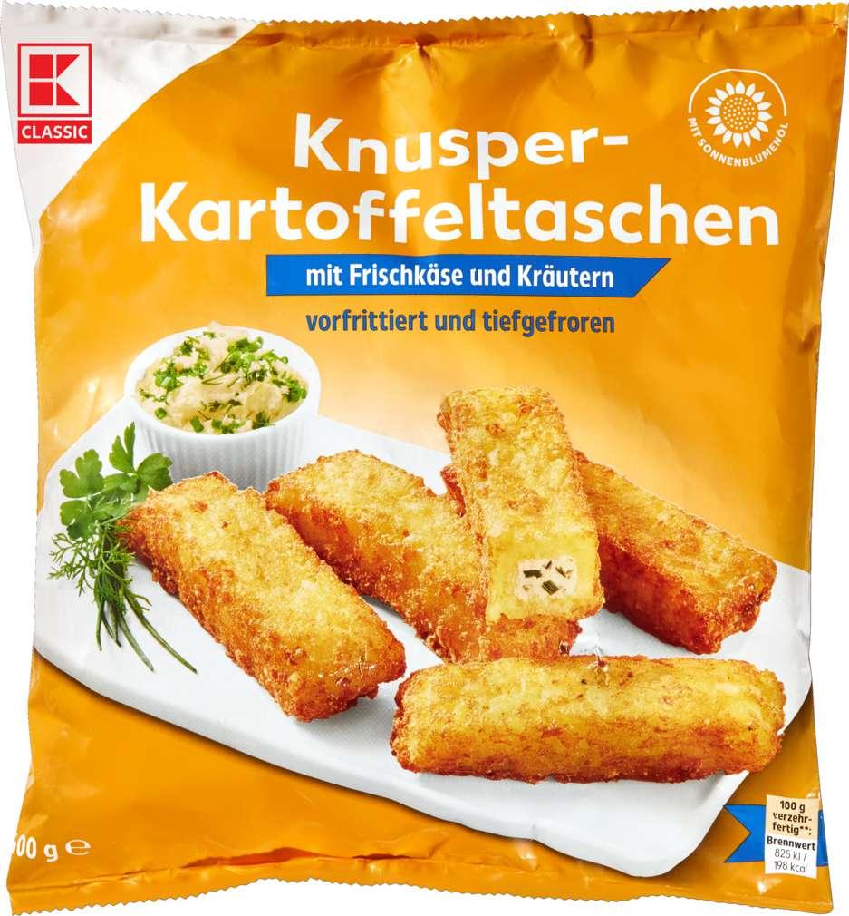 Abbildung des Sortimentsartikels K-Classic Kartoffeltaschen Frischkäse/Kräuter 600g