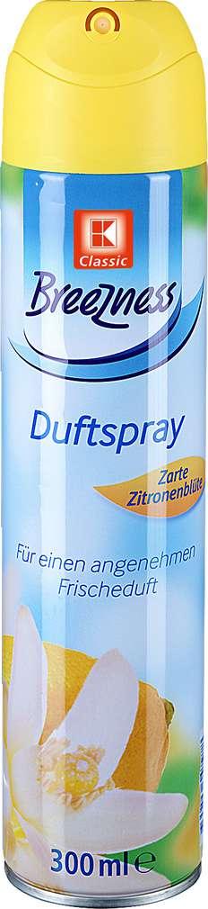 Abbildung des Sortimentsartikels K-Classic Breezness Duftspray Zarte Zitronenblüte 300ml