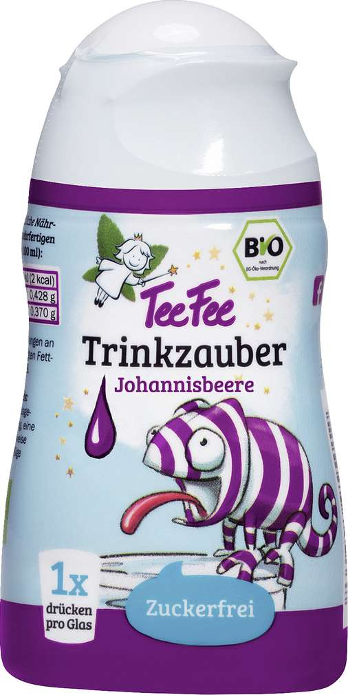 Abbildung des Sortimentsartikels TeeFee Bio Trinkzauber Johannisbeer ab 1 Jahr 48ml