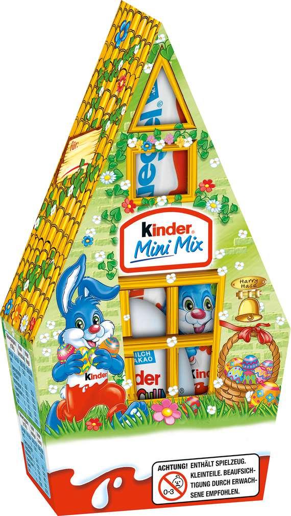 Abbildung des Sortimentsartikels Ferrero Kinder Mini Mix 79g